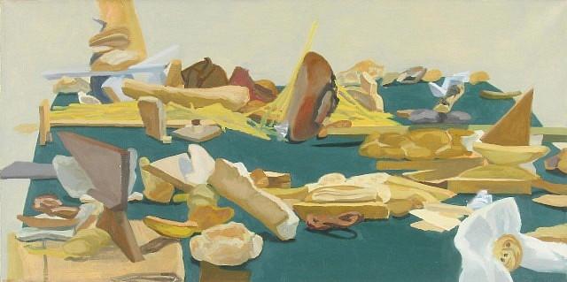 Rachel Youens, Event 2005, oil on linen
