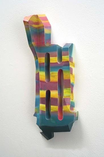 Tamara Zahaykevich, Chameleon 2006, airbrushed foam core