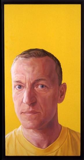 Brenda Zlamany, Portrait No. 92 (David Humphrey) 2006, oil on panel
