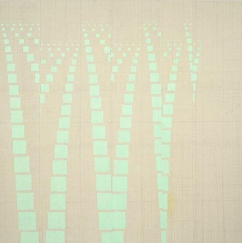 Elise Adibi, Vanishing Point 2008, oil on canvas