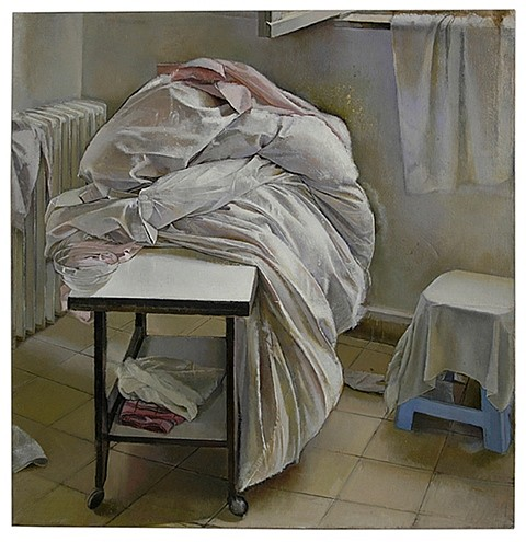 Shira Avidor, Blanket 2004, oil on canvas