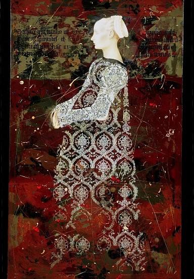Igor Kozlovsky and Marina Sharapova, Shadow of the Fresco 2005, oil on linen