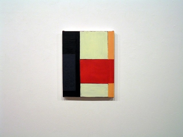 Mark Williams, Right Moves 2005, oil on canvas