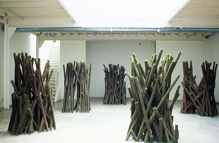 Francois Daireaux, Formite 2002, polyester resin, florale foam