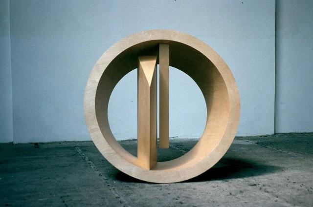 Nigel Hall, Soglio II 1994, wood