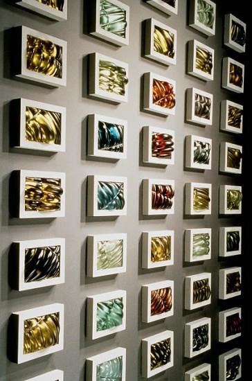 Julie Mihalisin & Phillip Walling, Collaborative Effort 1998, glass, concrete, metal