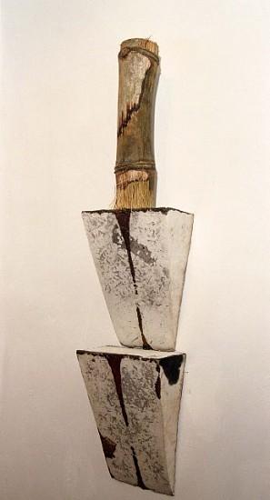 Ayano Ohmi, Cacique Taino 2002, clay, bamboo