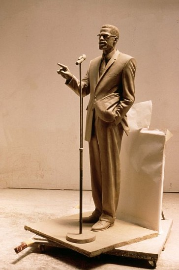 Gabriel Koren, Malcolm X 1996, bronze