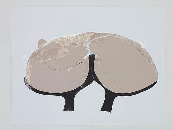 Dorota Buczkowska, Tenderness 2010, collage