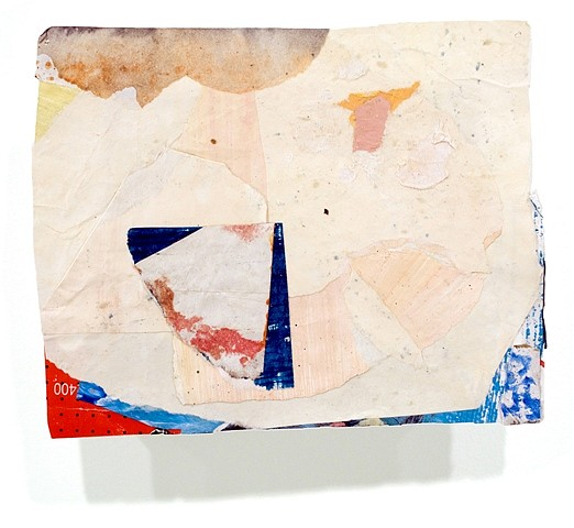 Mario Naves, Postcard From Florida #69 2007, acrylic and pasted paper