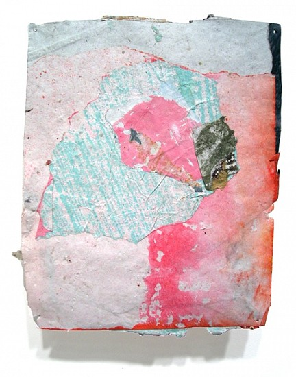 Mario Naves, Postcard From Florida #166 2008, acrylic and pasted paper