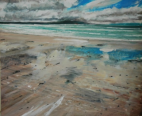 Neal Greig, Beach Painting 2009, oil on canvas