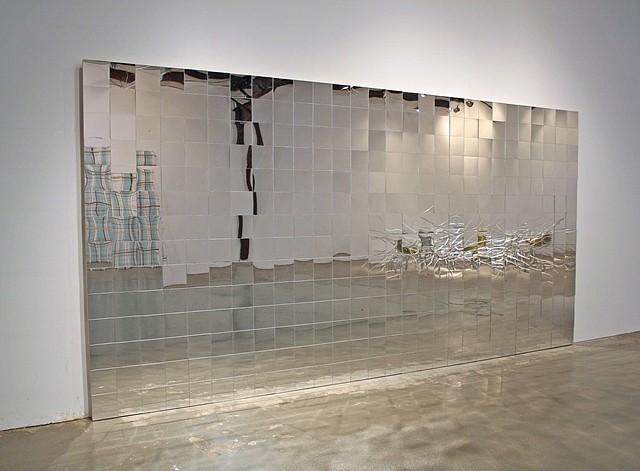 Tom Orr, Window 2008, mirror, plexiglass and wood