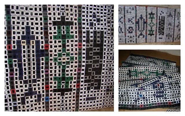 Olaniyi Akindiya, Asiko: Moments 2010, mixed media sculpture