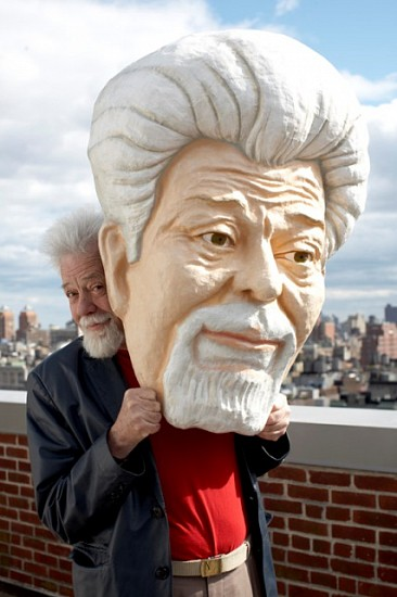 Didier Civil, Portrait of Roswell Rudd 2010, paper mache