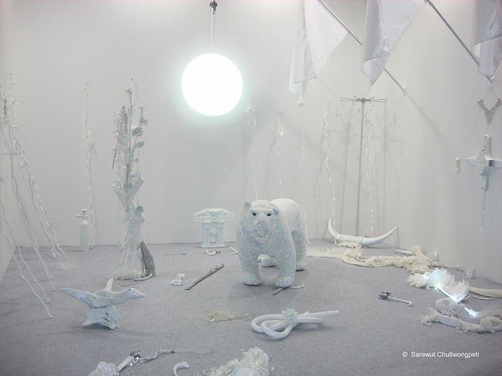 Sarawut Chutiwongpeti, The Installation series of Untitled (Wishes, Lies and Dreams) 2008, mixed media