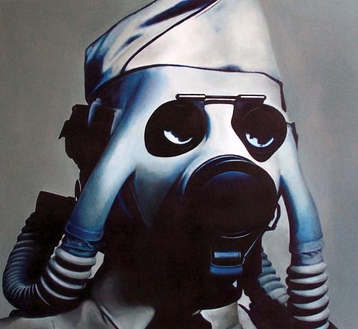 Gamaliel Rodriguez, The Alternate Identity 2010, acrylic on canvas