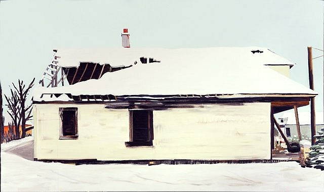 Nancy Mitchnick, 13757 Buffalo Street 2009, oil on canvas
