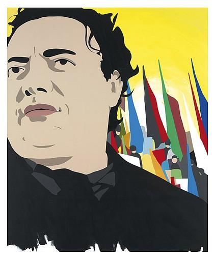 Brian Alfred, Diego 2010, acrylic on canvas