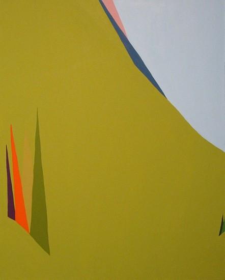 Patty Cateura, Fall Mntn 2010, acrylic on canvas