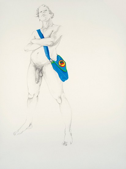 Zoe Charlton, Untitled 1 2010, graphite, gouache and acrylic on paper