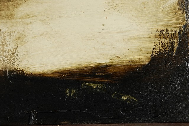 Mary Donnelly, Evening and the World Begins to Disappear 2011, oil on plaster, on canvas supported by board