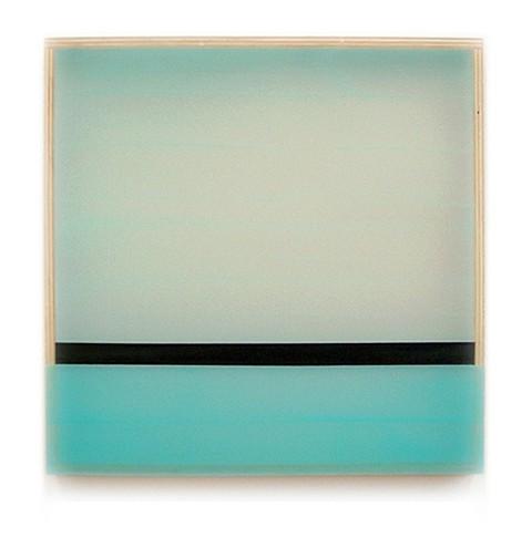 Heather Hutchison, Departed 2010, plexiglass, enamel, birch plywood, beeswax, pigment