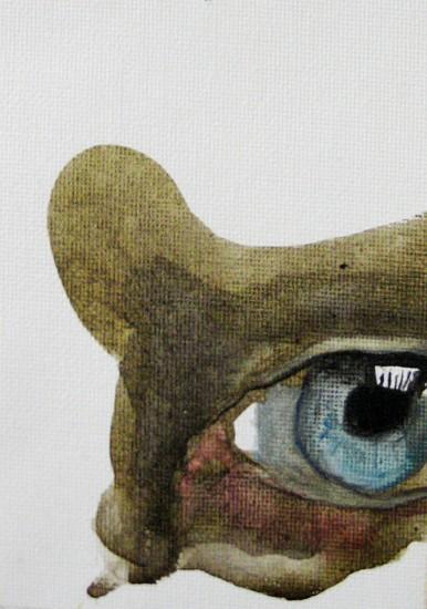 Kelly Jayne, Untitled 2011, acrylic on canvas