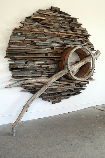 Paul Bowen, Drift Stack 2009, wood