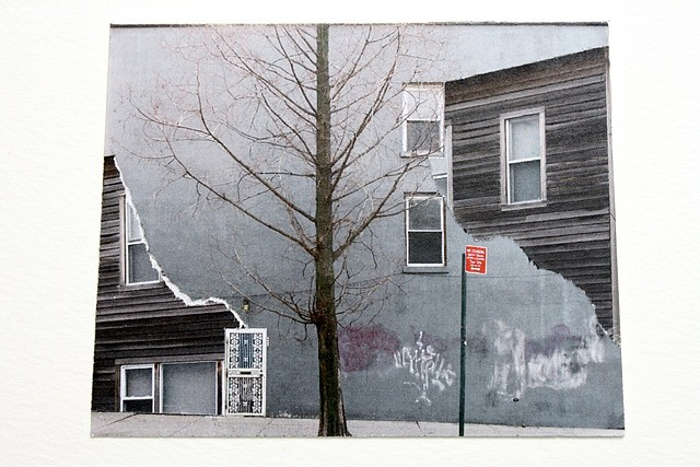 Amanda C Mathis, Experiments in Architecture Series, 01.10, No. 2 2010, prints collaged on paper