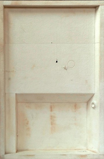 Jorge Usan, Chapell I 2010, pencil, acrylic, ink, treated matt on aluminum