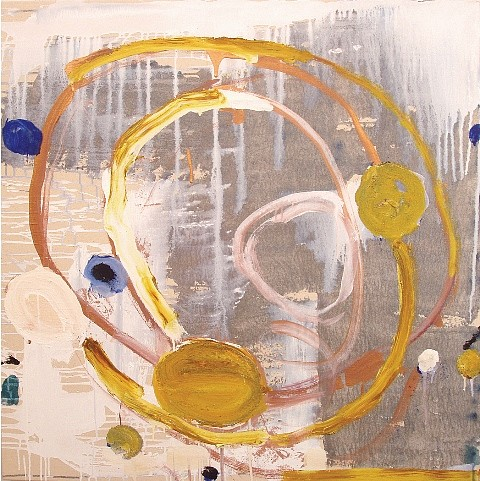 Tom Savage, Crazy Train 2011, mixed media on canvas