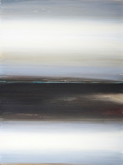 Marsha McDonald, Strand, Late Winter 2011, acrylic on boards