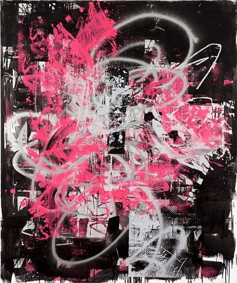 John Bauer, Loveless 2009, oil and enamel on linen