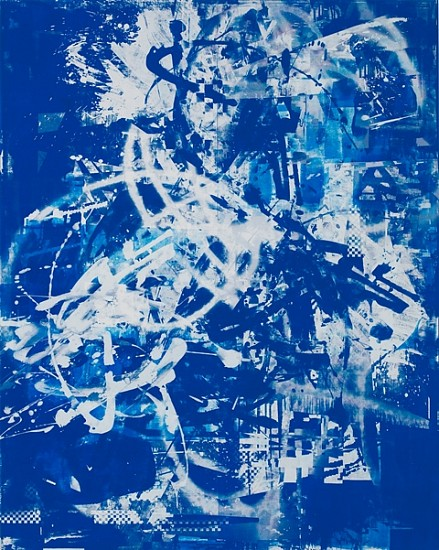 John Bauer, Untitled 2011, oil and enamel on linen