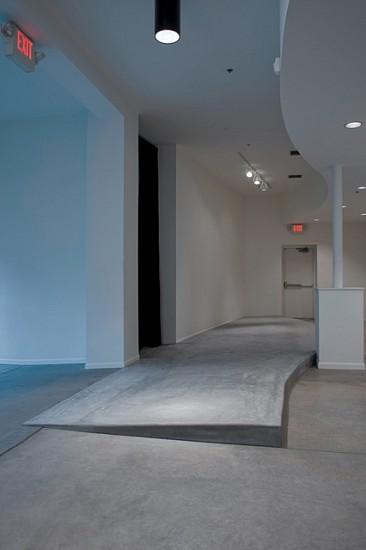 Jennifer Danos, Untitled (Architectonic Obtrusion 1) 2008, Poured concrete