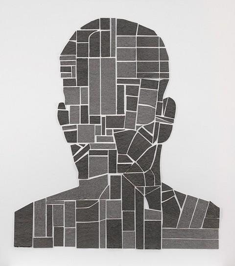 Ben Durham, Brandon (4 Maps) 2010, cut handmade paper