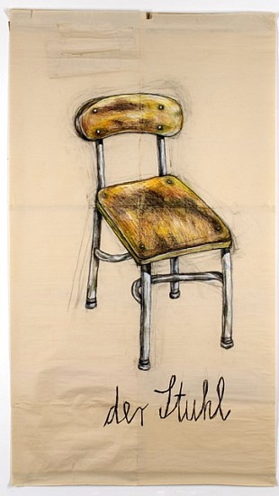 Nora Krug, Chair 2004, color pencil