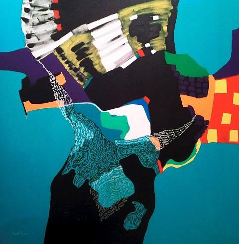Reem Hassan, Women 2012, acrylic colors