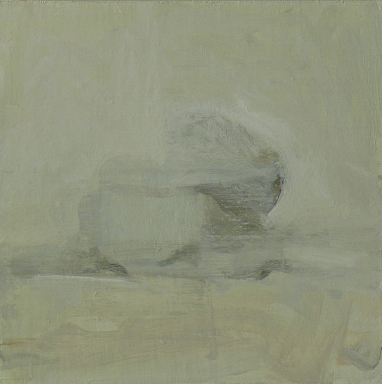 Roger Chavez, Untitled Still-life 2009, oil on canvas panel