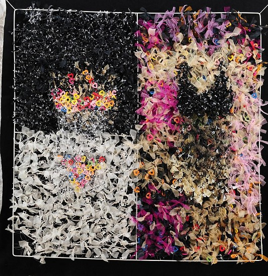 Smriti Dixit, Abstraction 2010, mixed media
