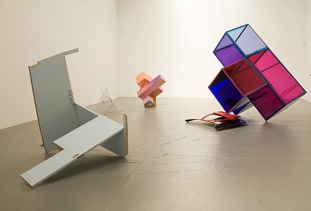 Sarah Braman, Indian Summer: Installation at Confort Moderne, France 2010, mixed media