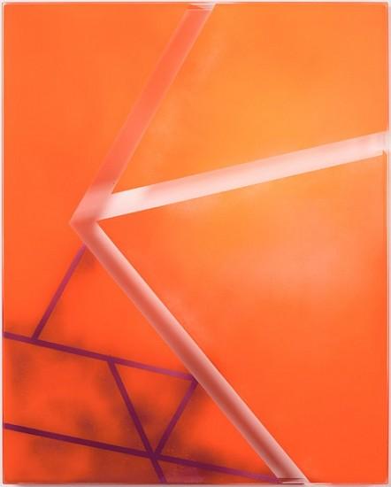 Mika Tajima, Furniture Art (Barcelona) 2011, spray enamel, moded plexiglass