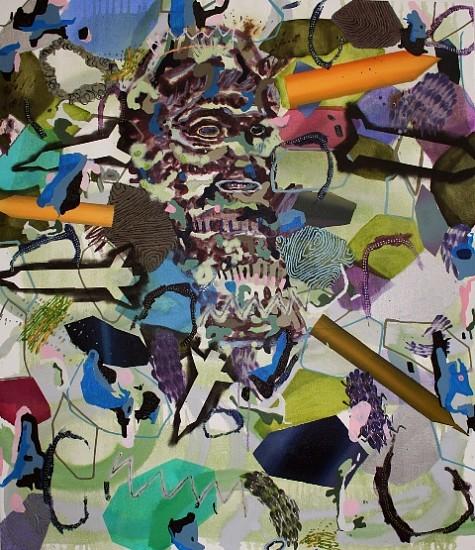 Melanie Daniel, King Missile 2012, oil on canvas