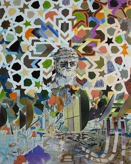 Melanie Daniel, Canaan 2012, oil on canvas