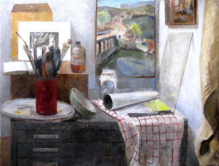 Peter Colquhoun, Corner of the Studio 2010, oil on linen