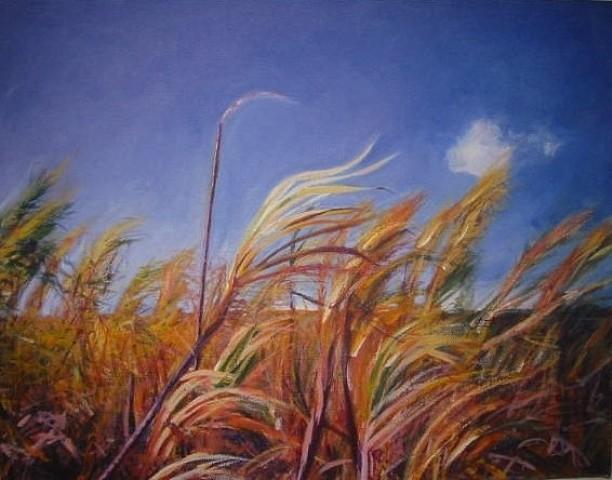 Keiko Bonk, Wild Sugar 2004, acrylic on canvas