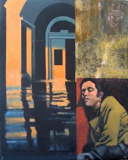 John Howard, Desperate Couplings 2008, acrylic on canvas