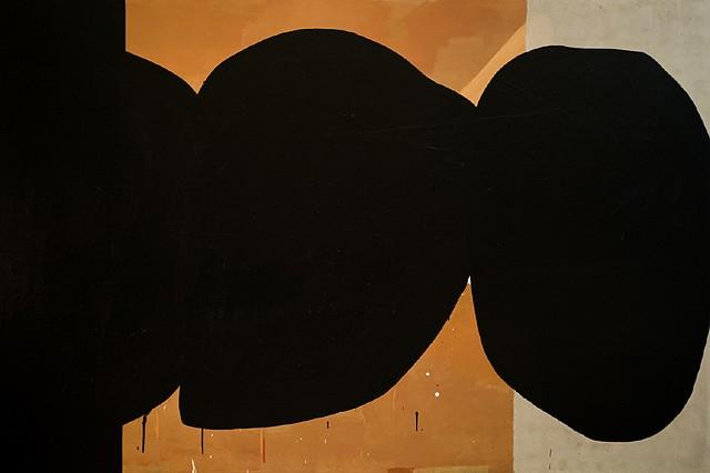 Robert Sosner, Allegiance 2013, acrylic on canvas