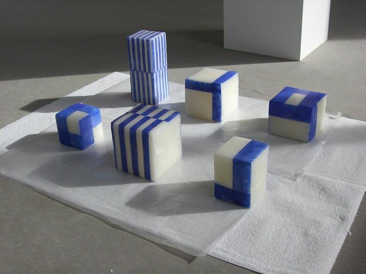 Stuart Arends, PDF Exhibition Works 2010, oil on wax